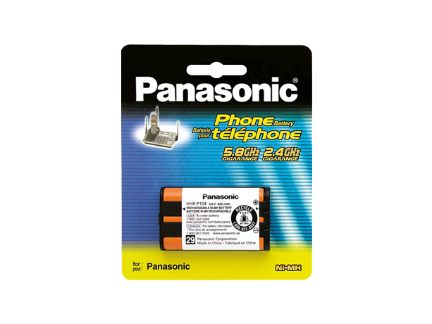 Panasonic HHR-P104A Cordless Telephone Battery
