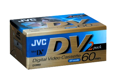 JVC M-DV60DE2 60 Min. Mini DV Tape 2 Packs