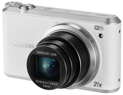 Samsung WB350F 16.3MP C MOS Smart WiFi & NFC Digital white