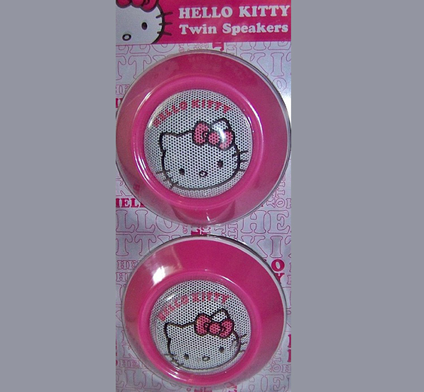 Hello Kitty Twin Speakers