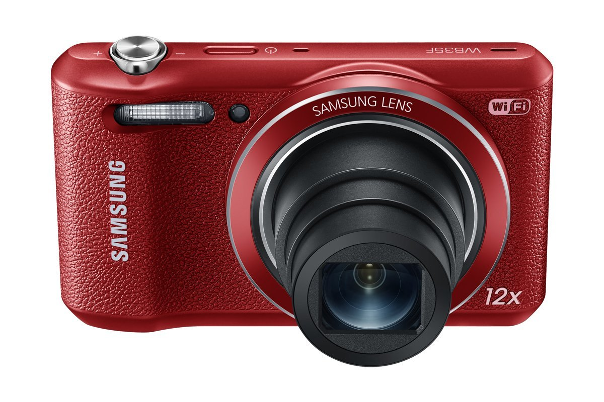 Samsung WB35F 16.2MP Smart WiFi & NFC Digital Camera 12x RED