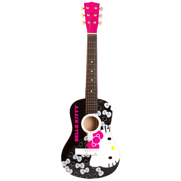"Hello Kitty 30"" Acoustic Guitar"