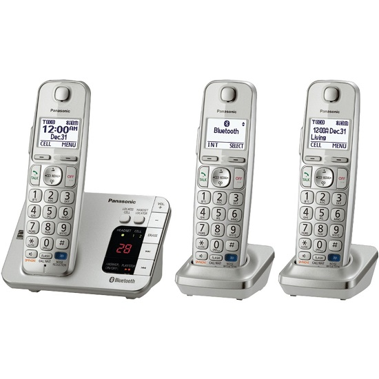 Panasonic KX-TGE263S RB Link2Cell Bluetooth Enabled Phone