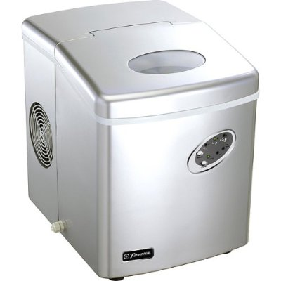 Emerson Portable Ice Maker, Silver