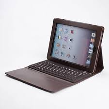 Innovative Technologies Bluetooth iPad Case - Brown