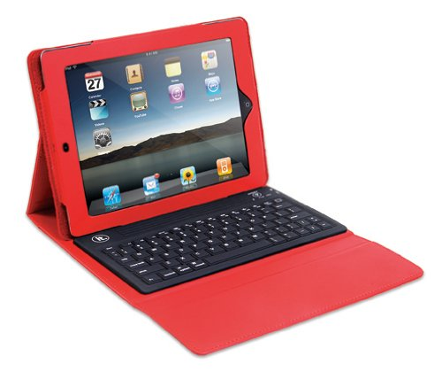 Innovative Technologies Bluetooth iPad Case - Red
