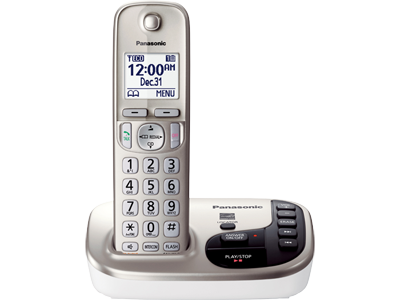 Panasonic KX-TGD220N RB DECT 6.0 Expandable Digital Cordless Answering System