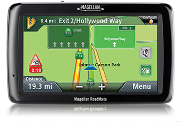 "Magellan 5"" GPS with Map and Traffic"