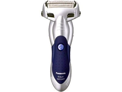 Panasonic 3-Blade Wet/Dry ShaverBlue Color Shaver, Silver