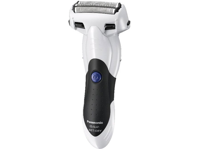Panasonic ES-SL41W 3-Blade Wet/Dry Shaver Black & White color