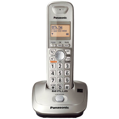 Panasonic KX-TG4011N RB Expandable Digital Cordless Phone with 1 ha