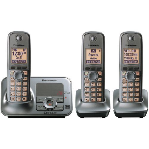 Panasonic KX-TG4133M RB Expandable Digital Cordless Answering Syste