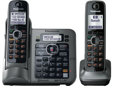 Panasonic KX-TG7642M Link-to-cell Bluetooth Cellular Convergence