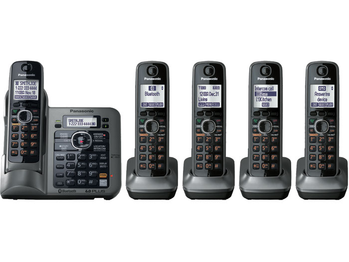 Panasonic KX-TG7645M Link-to-cell Bluetooth Cellular Convergence