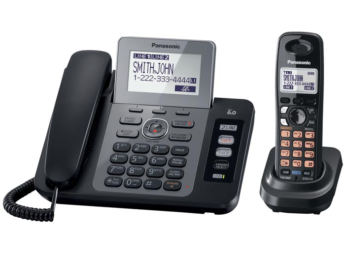 Panasonic KX-TG9471B Two Line Expandable Digital Answering Syste