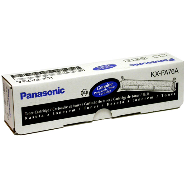 Panasonic KXFA76 Cartidge For Panasonic Fax Machine