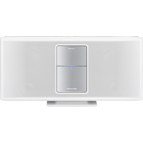 Panasonic Compact Stereo System with iPod Dock, White