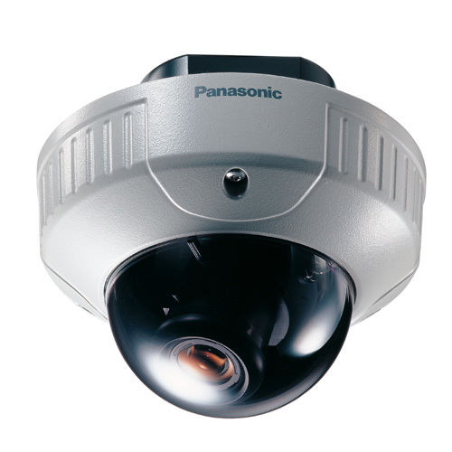 Panasonic WV-CW244F Vandal-Proof 480 Lines Dome Color Camera, Fl