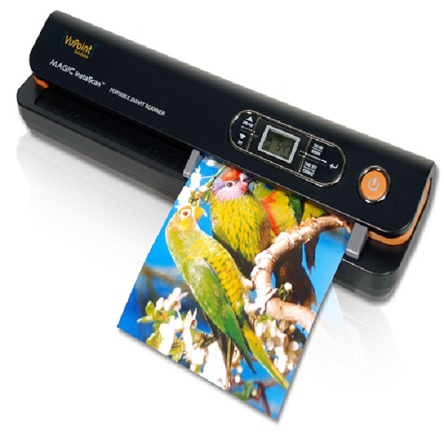 Vupoint Magic InstaScan Handheld Portable Scanner (PDS-ST420-VP) auto sheet feed