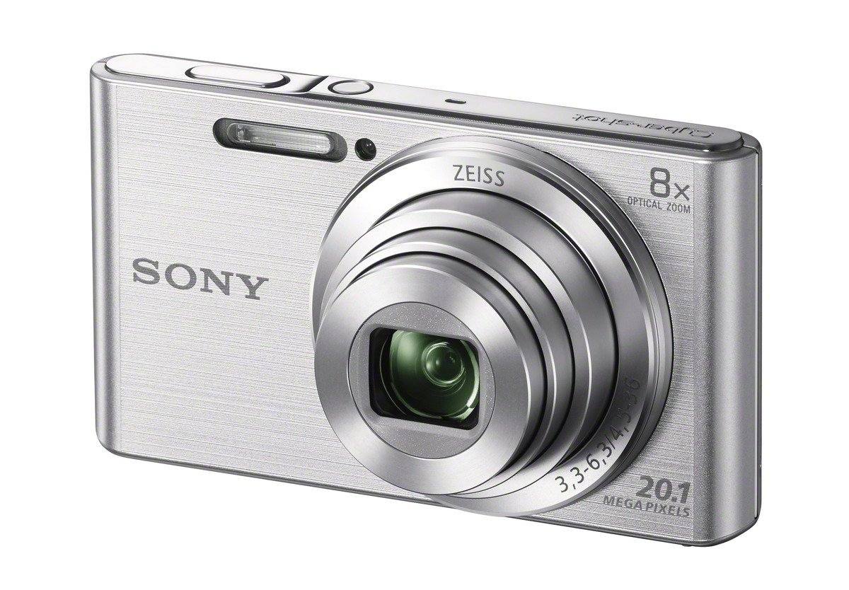 Sony 20.1 MP Digital Camera with 2.7-Inch LCD (Silver)