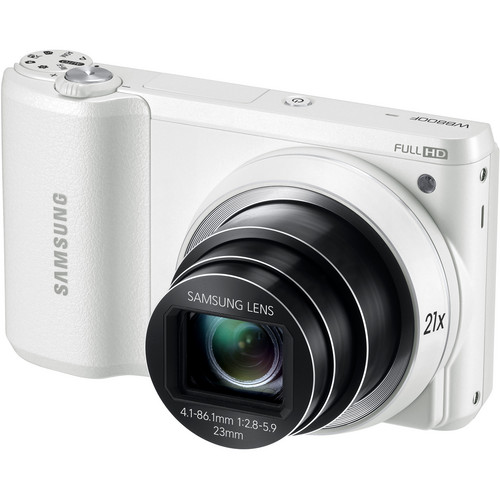 Samsung WB800F - 16.3MP 21x Optical Zoom Camera, White