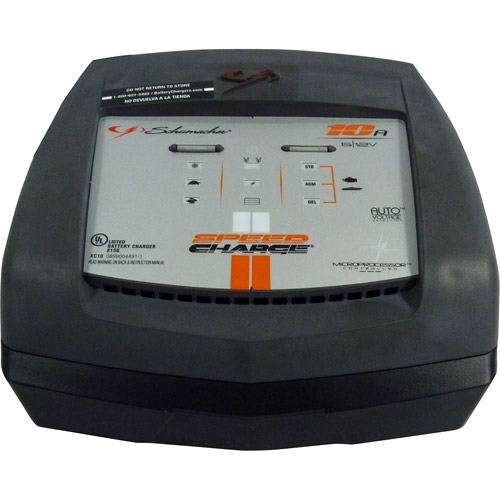 Schumacher SpeedCharge 10 Amp Battery Charger
