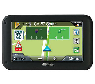"Magellan 5"" GPS with Traffic Alerts, Camera, Speed Limits"