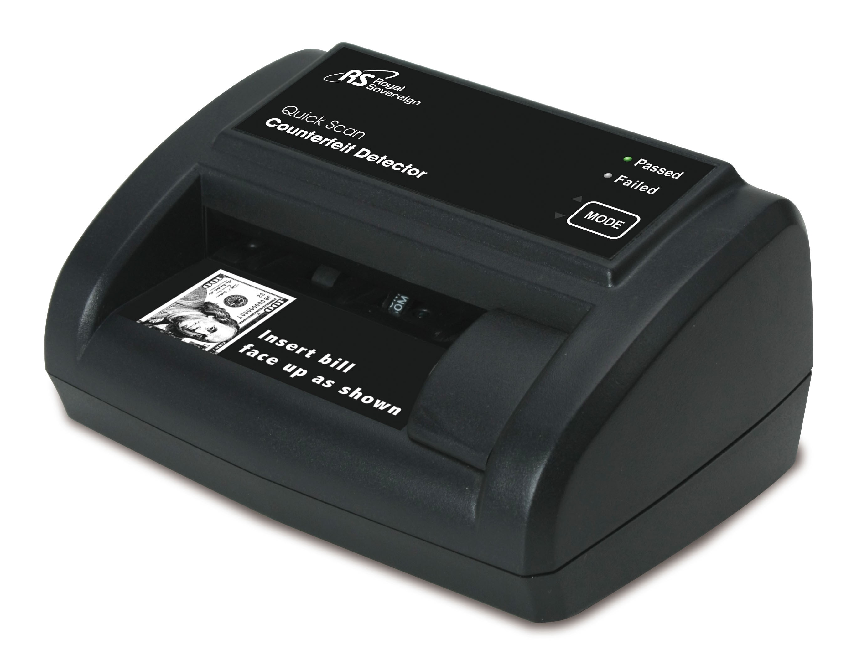 Royal Sovereign Quick Scan Counterfeit Detector, Supports New US
